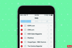 iPhone Safari bookmarks