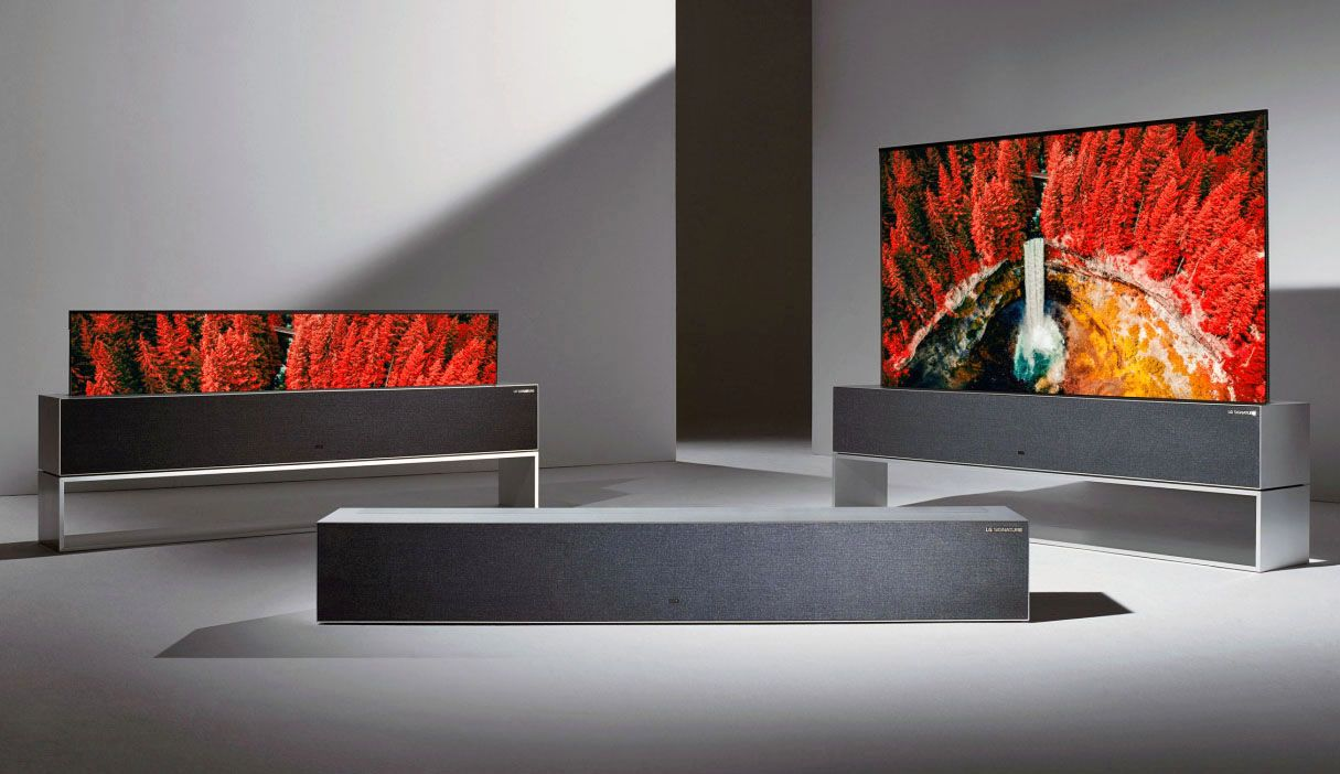 LG Rollable OLED Ultra HD TV - Dual View