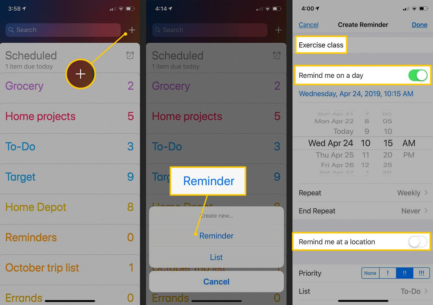 How to Set Reminders on the iPhone