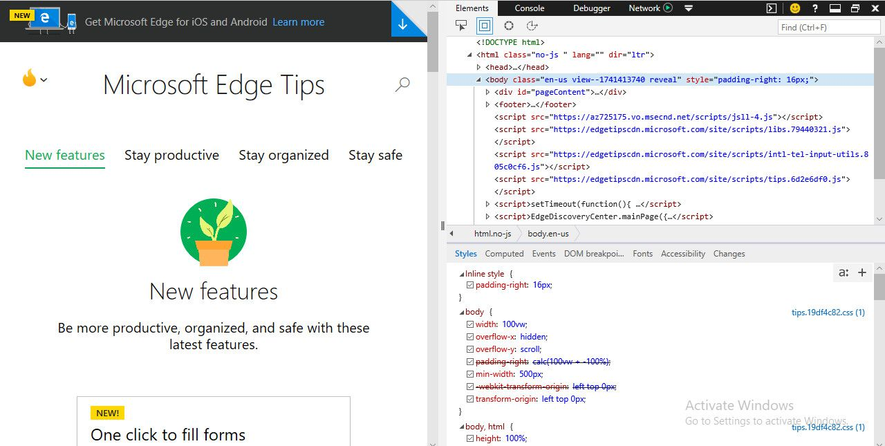 How to Use Web Browser Developer Tools