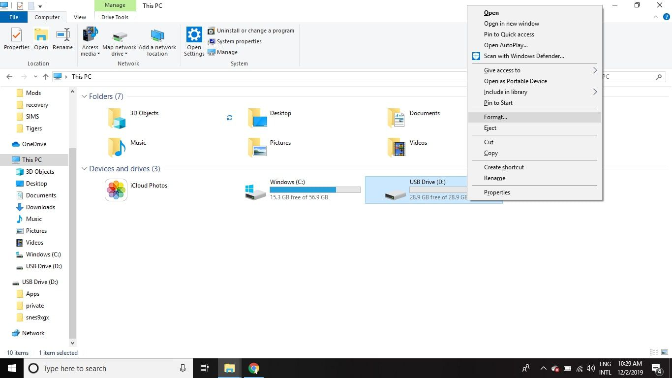 How to Format an SD Card on Windows