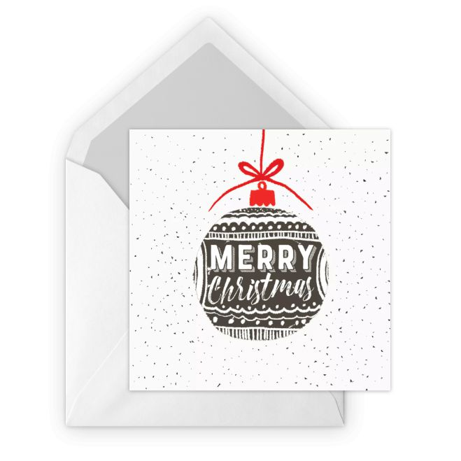 Merry Christmas Free E-Card