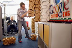 Google World Headquarters Global Offices Employee Benefits Workplace Engagement