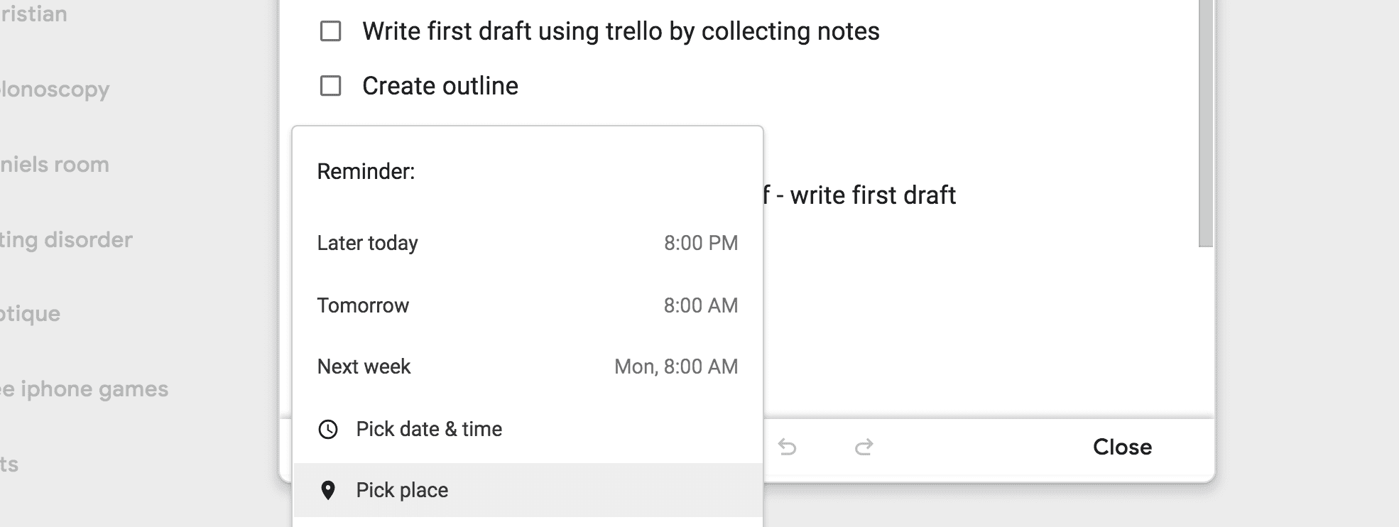 Google Keep Keeps Your Notes and Keeps You On Task