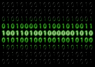 Image of binary code
