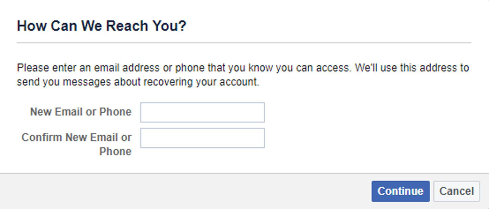 How to Recover Your Facebook Password Without Email and