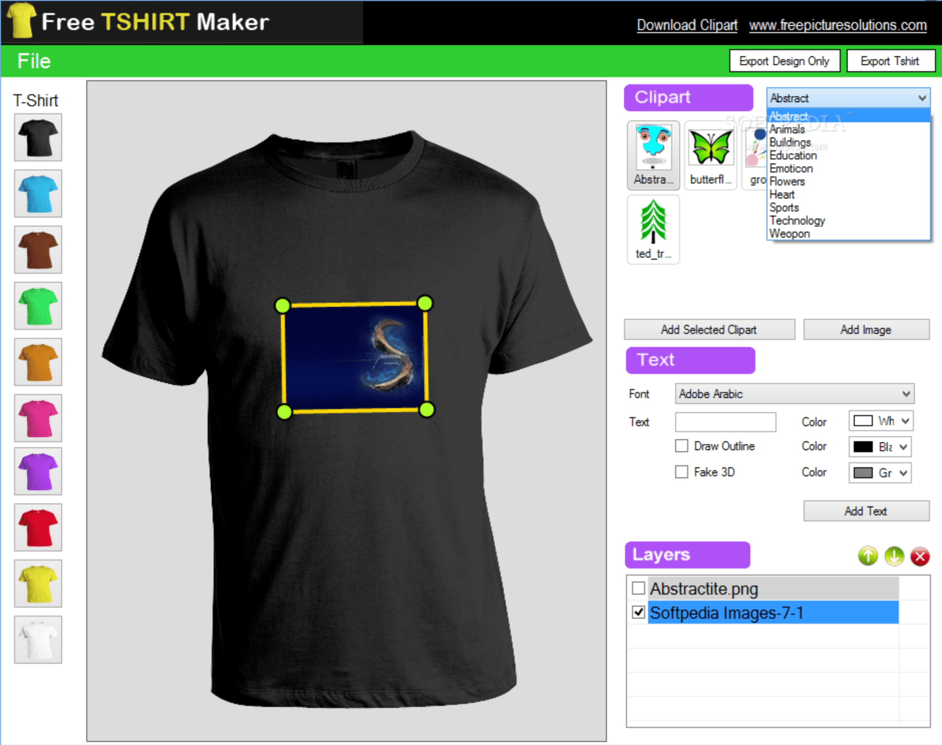 free tshirt maker software image