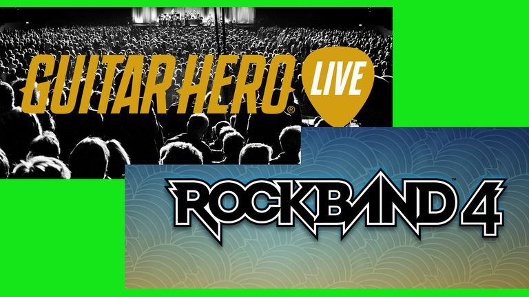 Rock Band 4 vs. GH Live