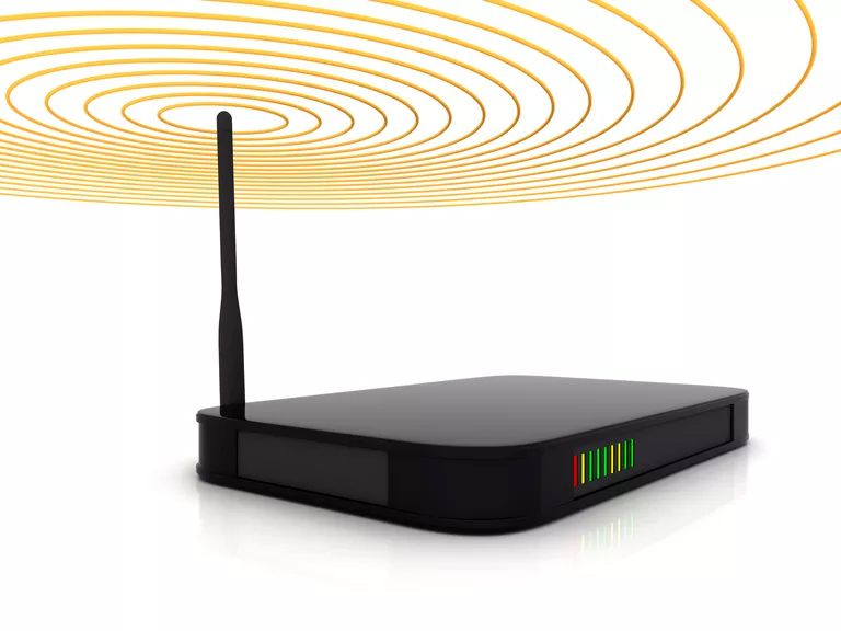 Router and Signal graphic