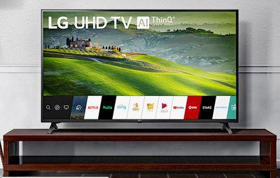 LG 4K Ultra HD TV Example – Living Room
