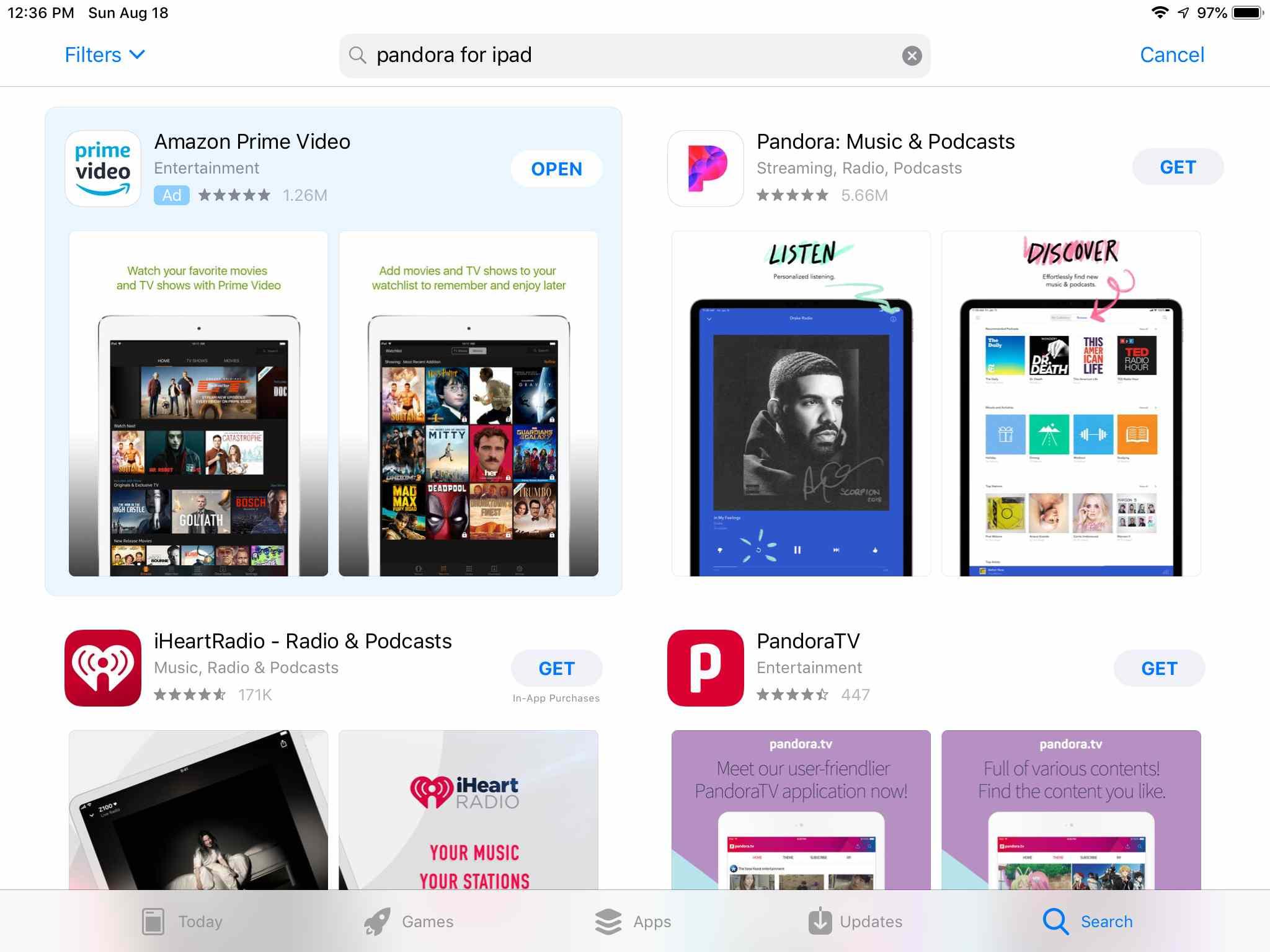 How to Use Pandora Radio on Your iPad