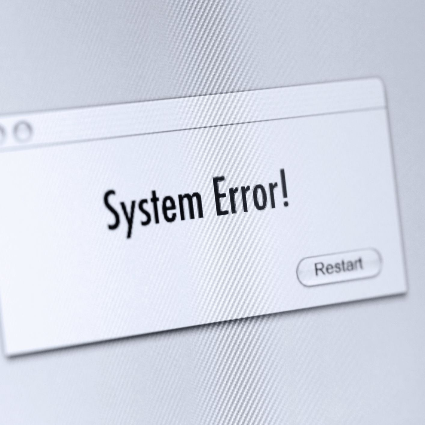 System Error Codes 1 to 15841 & What Each One Means