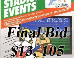 Bandai Stadium Events NES game