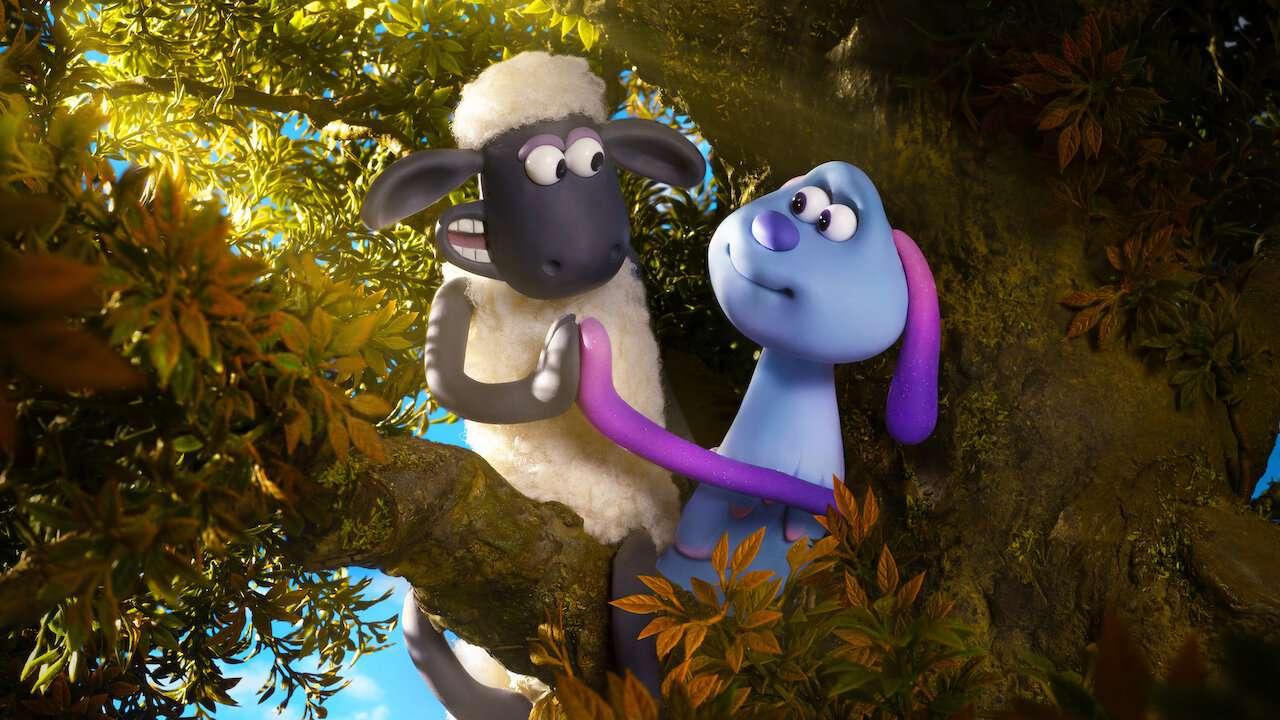A Shaun the Sheep Movie: Farmageddon claymation family film