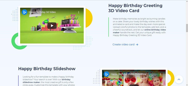 RenderForest video card website