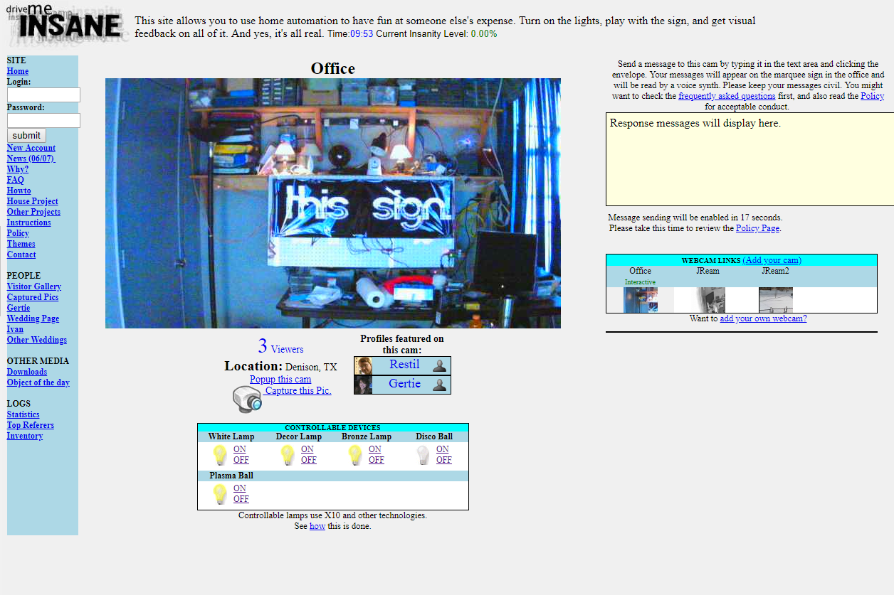DriveMyInsane.com screenshot