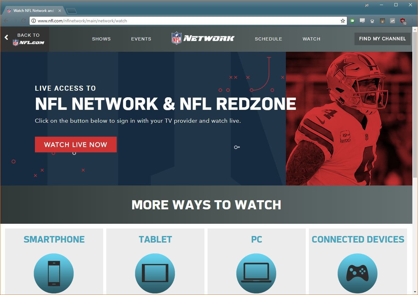 How to Stream Thursday Night Football