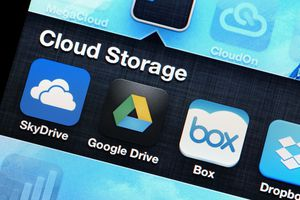 Mobile application of cloud storage
