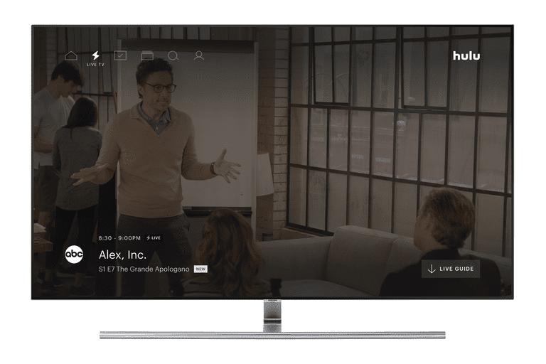 Alex, Inc on HDTV screen via Hulu