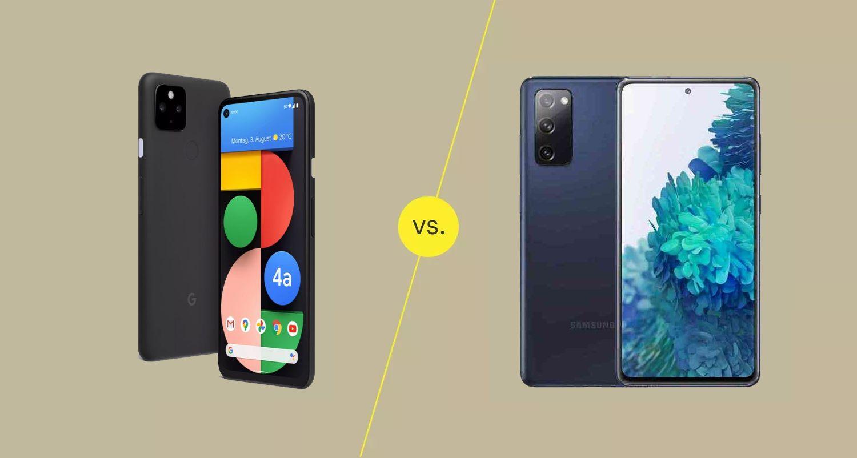 Pixel 4a vs. S20 FE