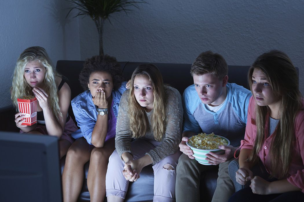 Teens watch most tv
