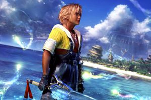 Final Fantasy X on the PS2