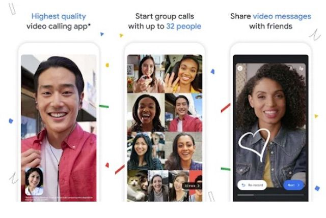 Google Duo Android video chat app