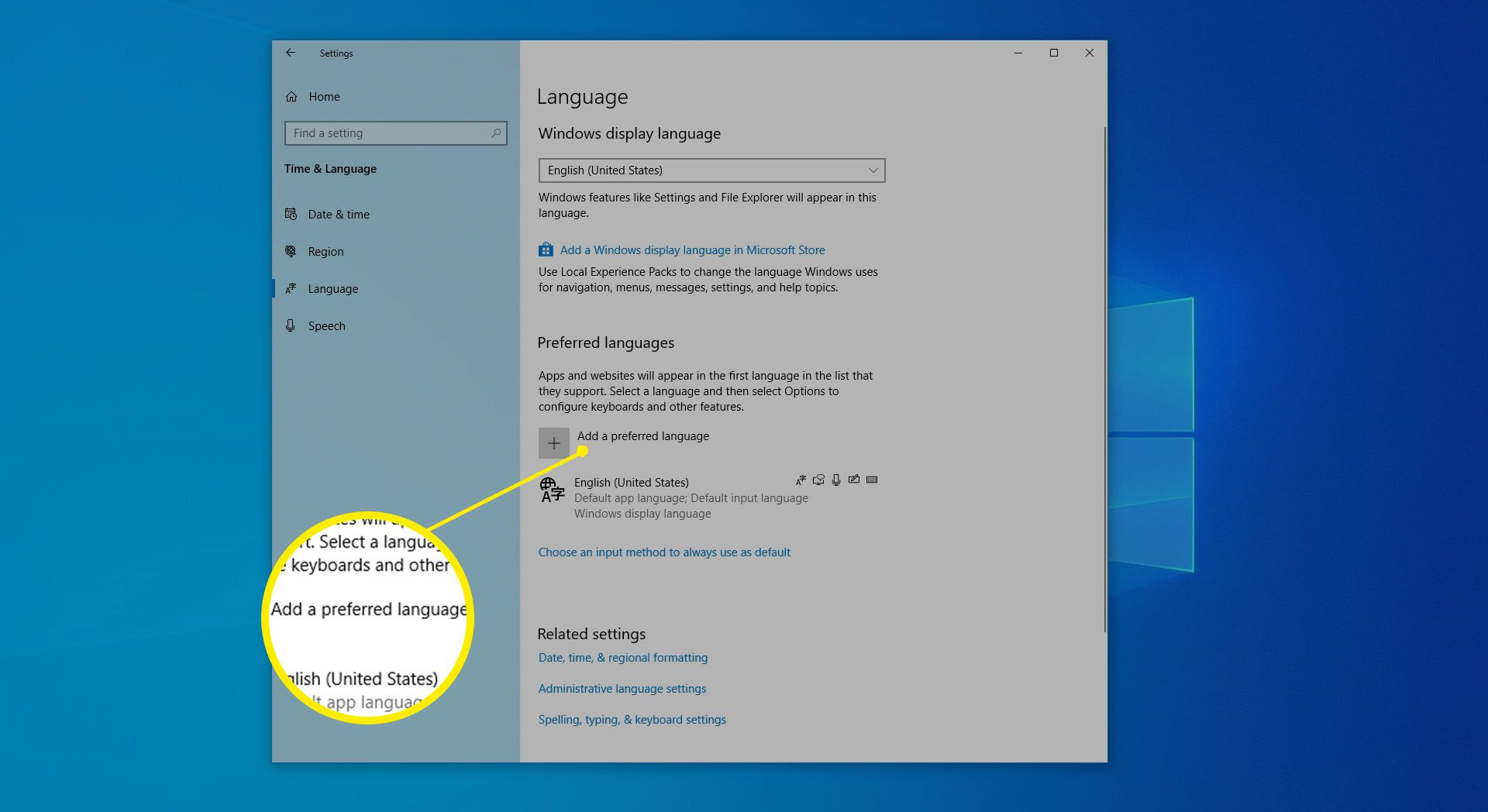 How To Change The Default Languages In Ie11