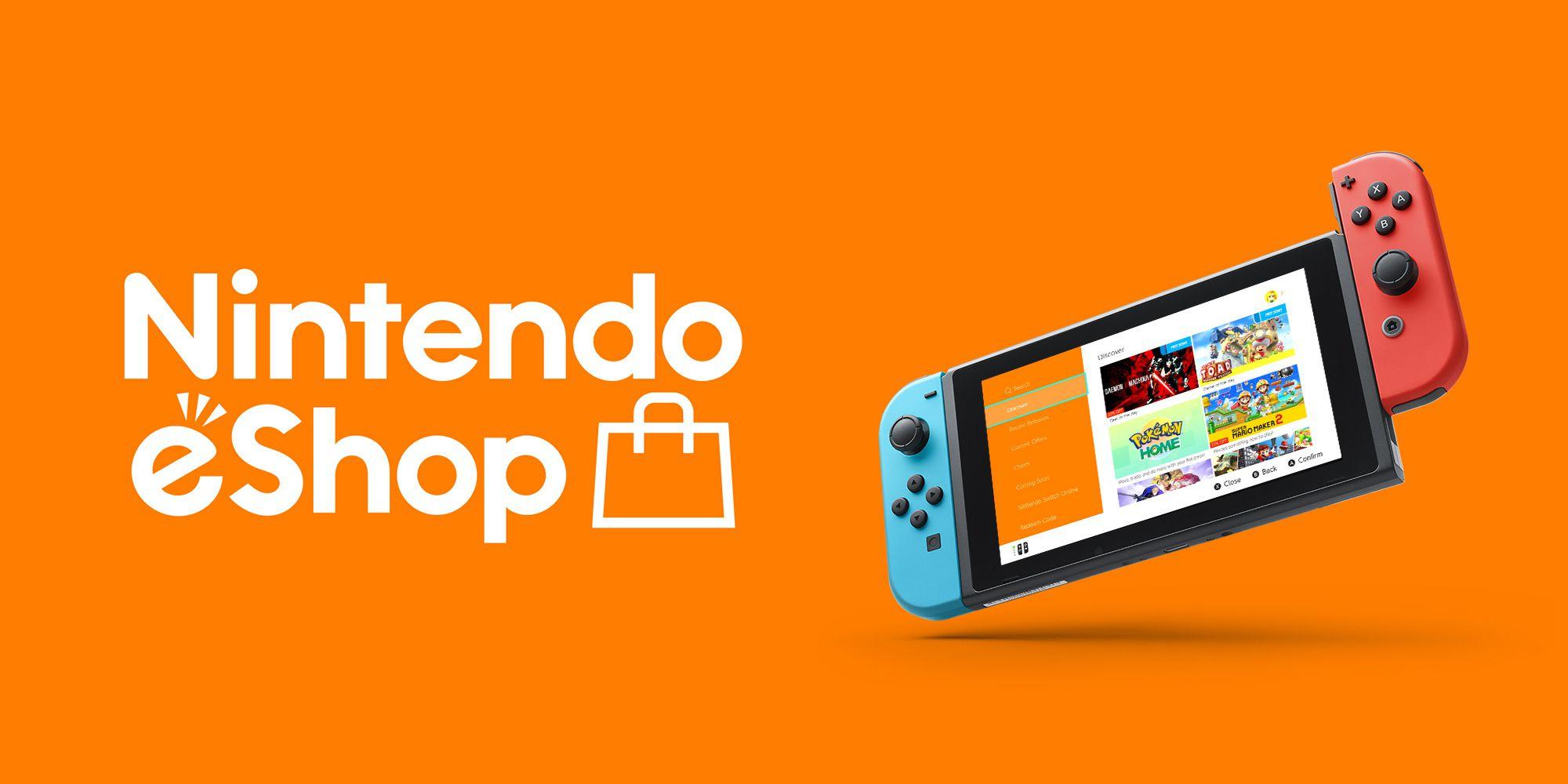 Nintendo eShop logo.