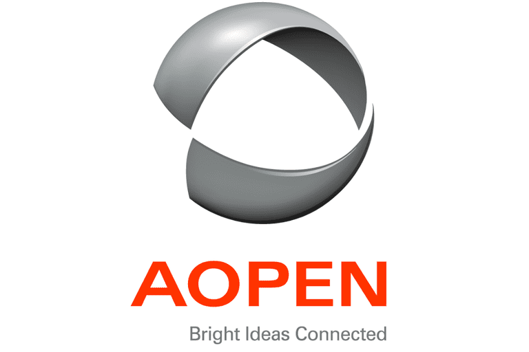 Screenshot of the AOPEN logo