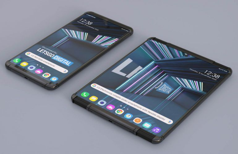 Concept images of the LG Foldable.