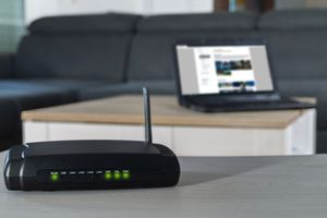 Image of a cable modem