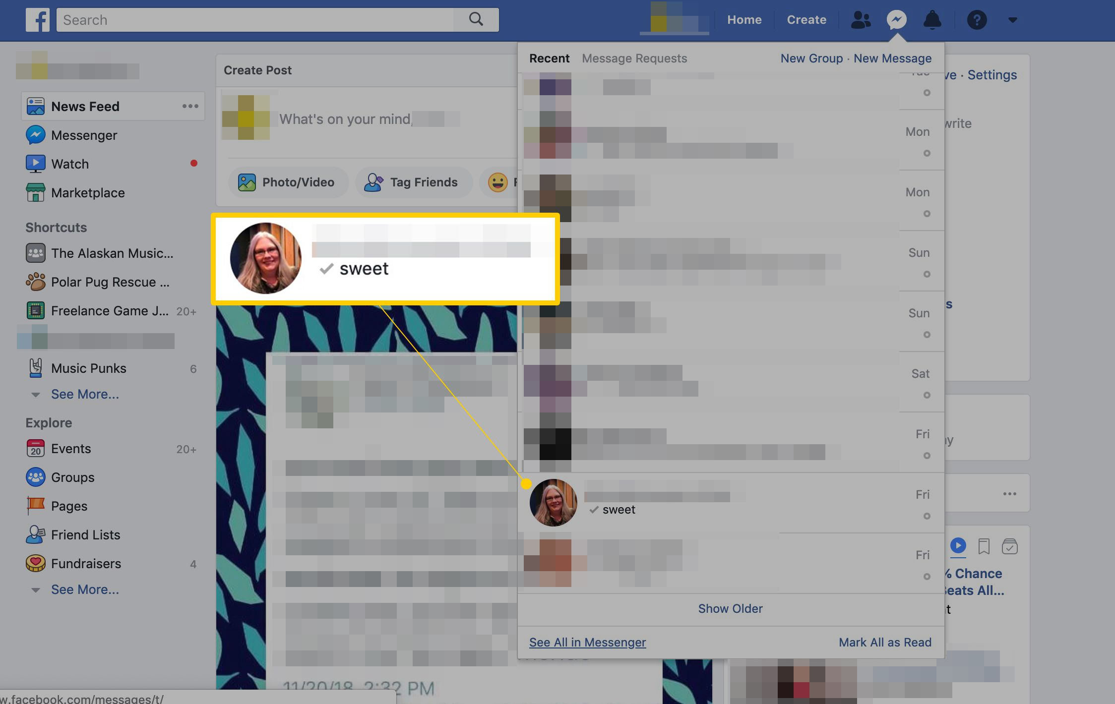 Find Your Facebook Chat History