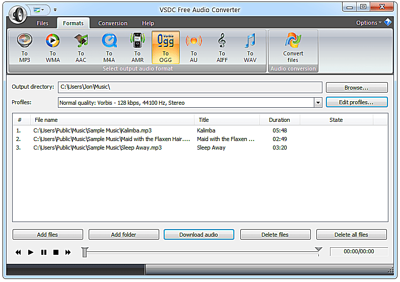 free audio converter for windows 7