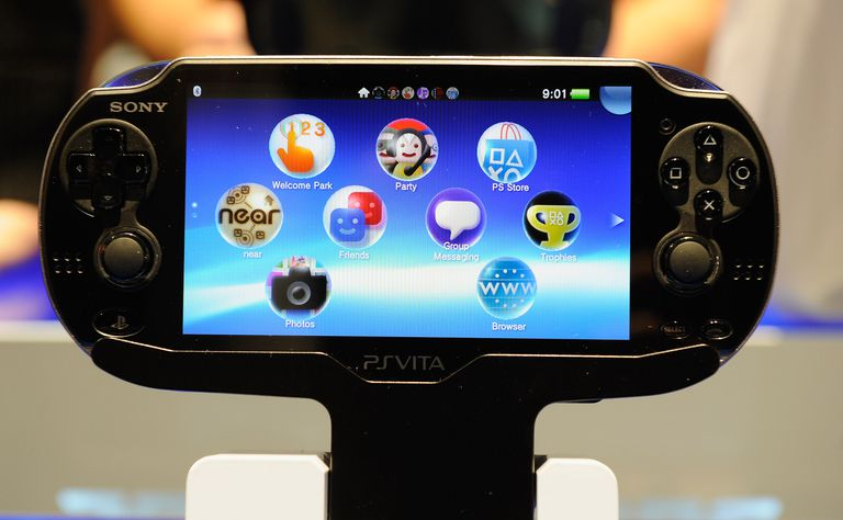 A Sony PS Vita