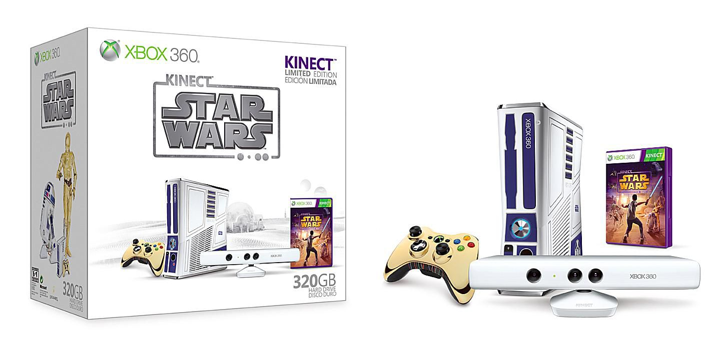 Kinect Star Wars Xbox 360 Console Bundle Pics on