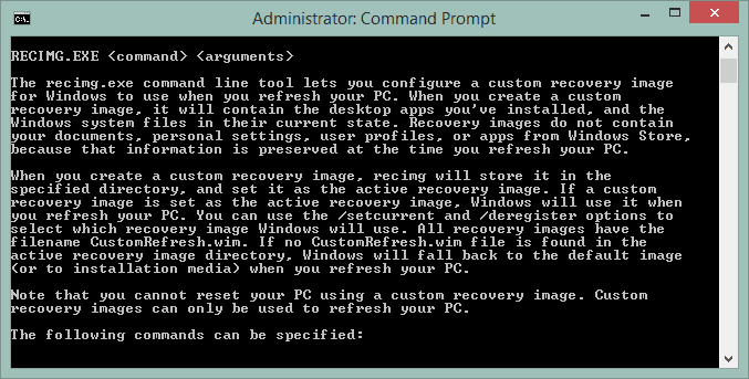 command prompt admin windows 8