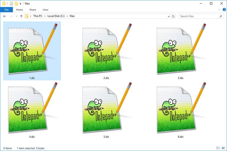 DIZ Files