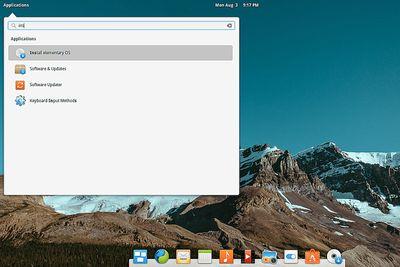 Elementary OS installation screenshot