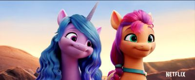 A unicorn and a pony go on an adventure in 'My Little Pony: A New Generation'