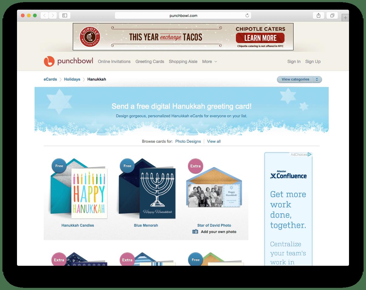 29 Favorite Hanukkah E Card Sites 2016