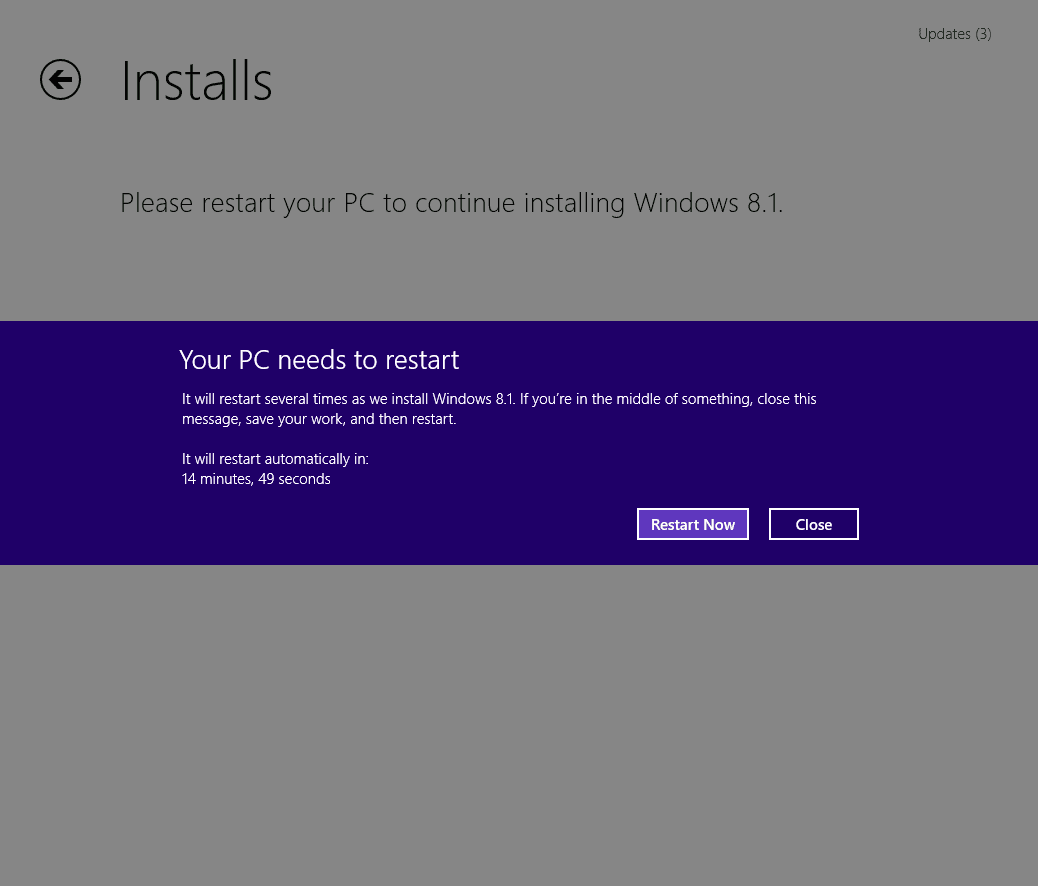 windows 8 to windows 8.1 upgrade offline