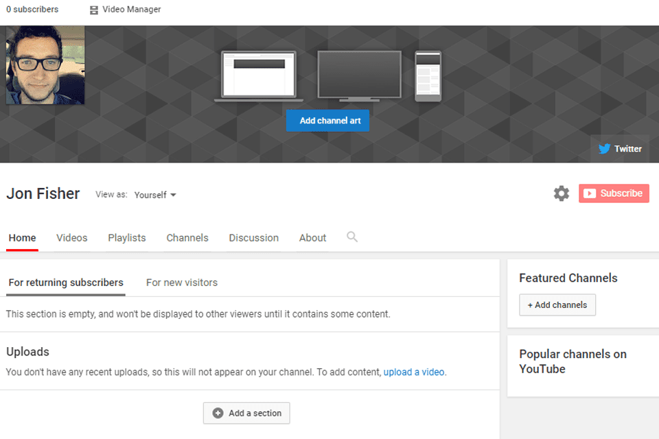 youtube broadcast yourself channel