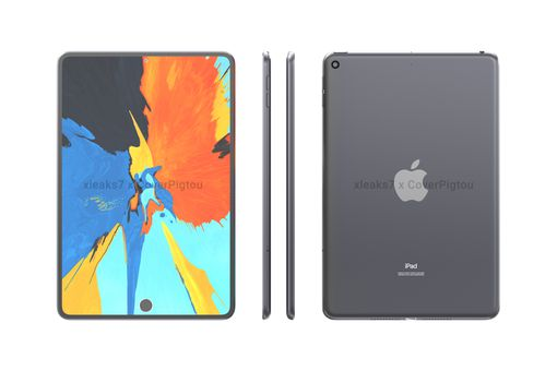 Renders of the 2021 iPad mini