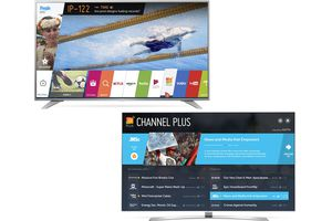 LG Channel Plus - Home and Navigation Screens