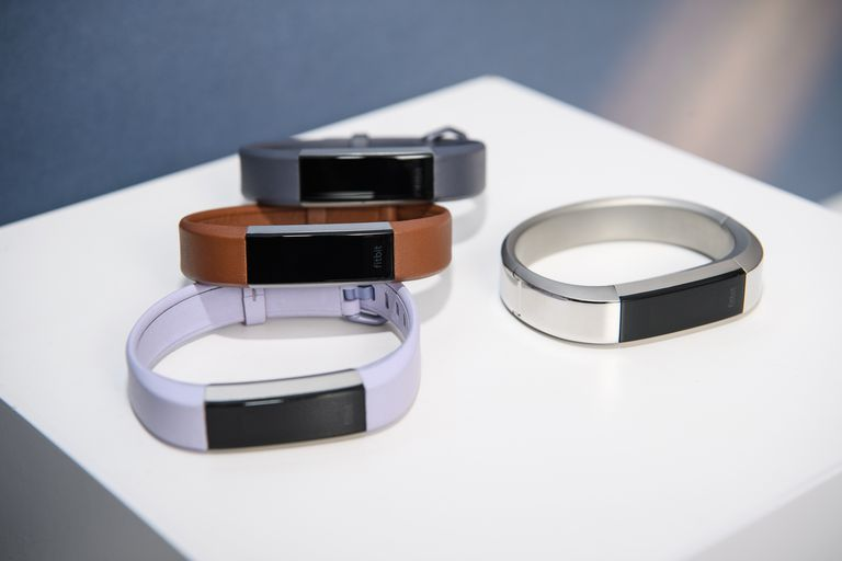A set of Fitbit Altas