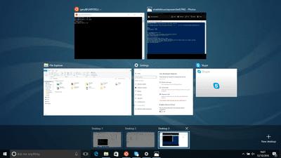 Linux Style Virtual Desktops In Windows 10