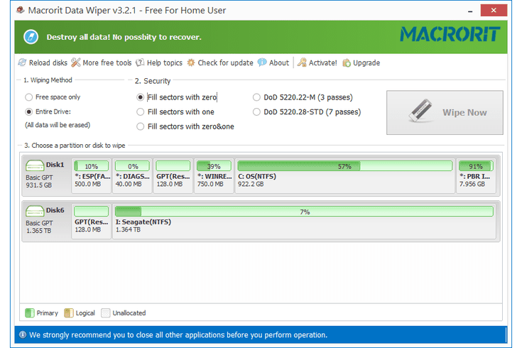 macrorit data wiper review
