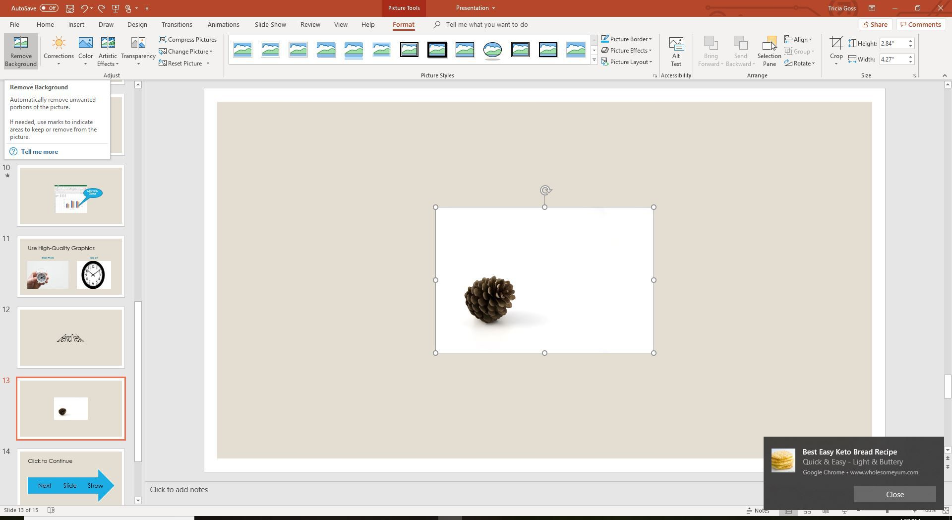 How To Make An Image Background Transparent In Powerpoint
