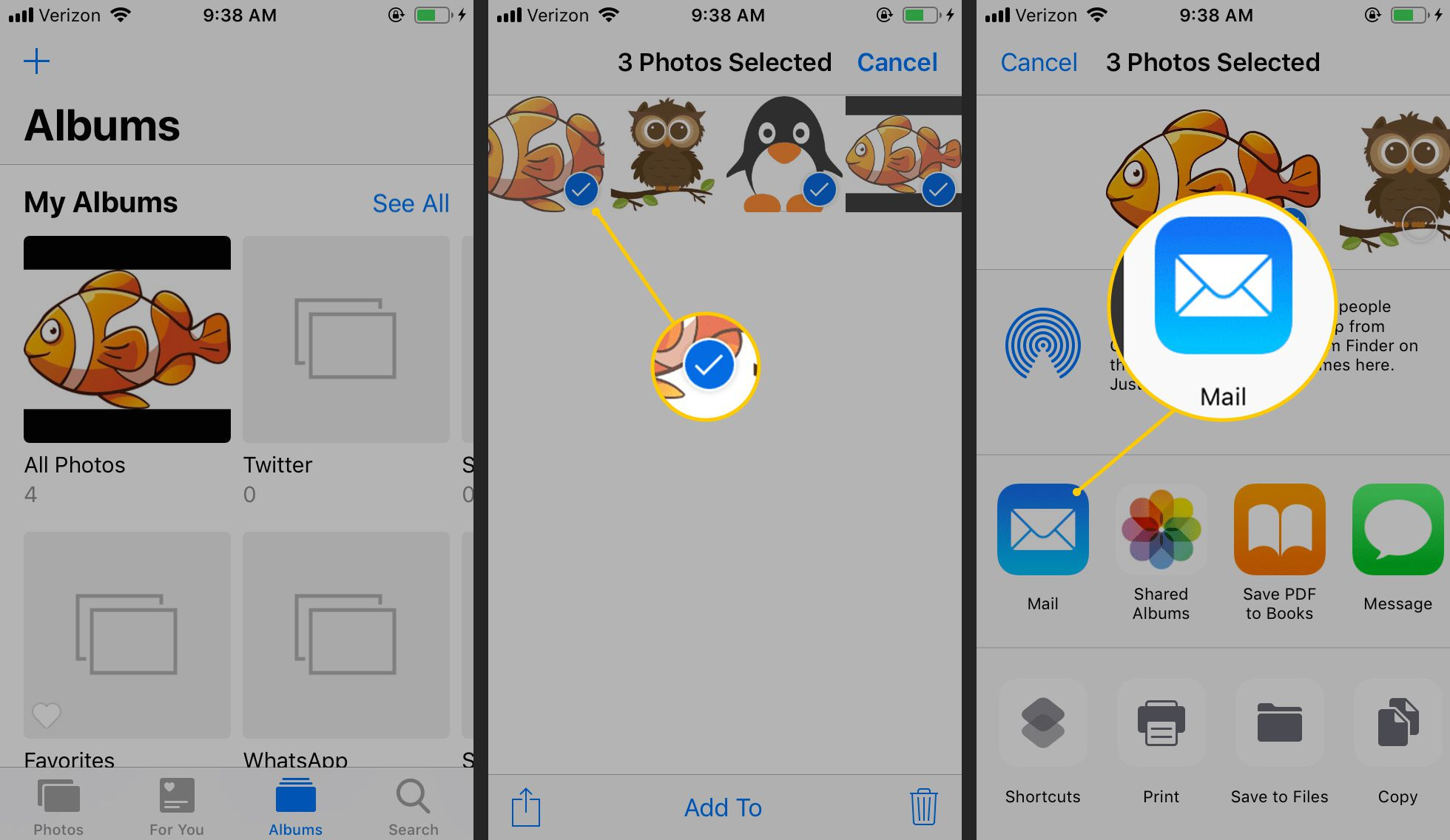 How to Send Images With iPhone Mail